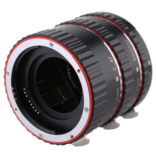 Macro automatica Auto Focus AF TTL elettronica Adattatore tubo di prolunga impostata (13mm 21mm 31mm) scatti fotografia per Canon EOS EF EF-S lente 760D 750 D 700D 650 D 550 D Rebel T2i T3i T4i T5i D 3 5DR 5p 70D 7 2 60 5D 2 5