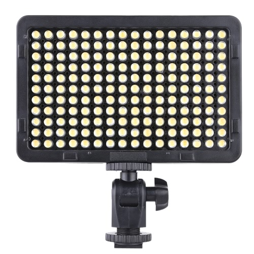 Portable  Photography Light LEDs 5600K for Cannon Nikon Pentax Olympus Camcorder DSLR Camera