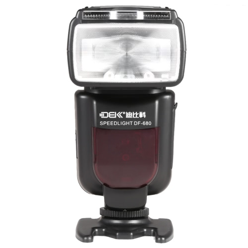 DBK DF-680C E-TTL LCD Display Electronic Flash Speedlite High Speed Sync 1/8000s Auto Focus On-camera Flash for Canon 5D2 5D3 6D 7D2 7D 70D 60D 700D 600D 100D DSLR Camera