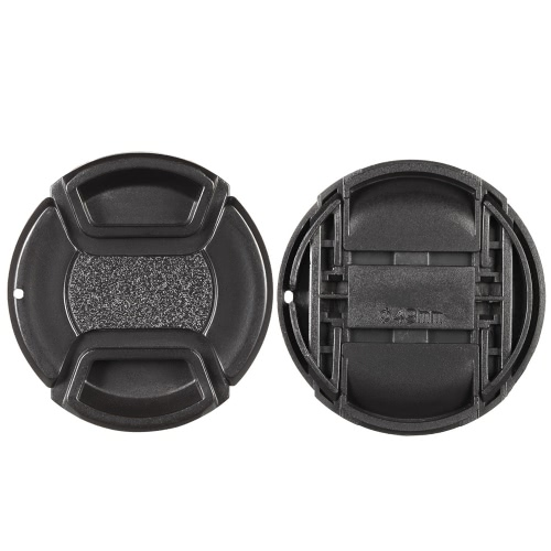 49mm center pinch snap-on lens cap cover keeper holder