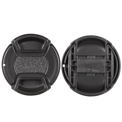 Osłona obiektywu 49 mm z centymetrem Przybliżona osłona obiektywu dla aparatu Canon Nikon Sony Olympus DSLR