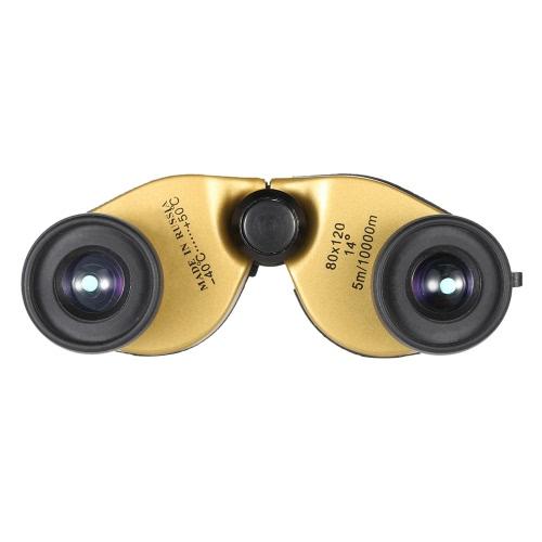 Compact Super Mini portable pliable Jumelles pliant 8X grossissements entièrement enduit optique