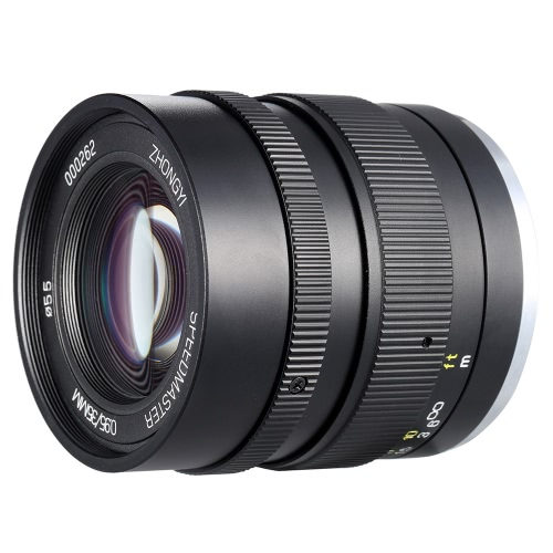 Zhong Yi Optics 35mm F0.95  APS-c Full Frame Lens for Sony E Mount Camera Portrait Photography