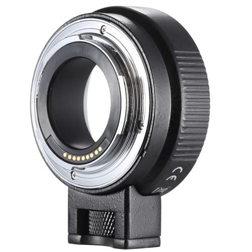 Andoer EF-EOSM lente Mount adaptador suporte Auto-exposição-foco automático e Auto-abertura para Canon EF/EF-S Series lente EOS M EF-M M2 M3 M10 câmera corpo suporte imagem estabilidade