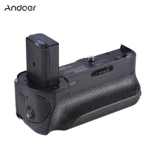 Grip BG-3FIR Andoer Pionowa Bateria IR Pilot zdalnego sterowania z Micro USB Port ładowania Compatible with 2 * Akumulator NP-FW50 dla Sony A6300/ A6500 ILDC Mirroless Camera