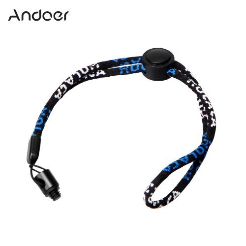 Andoer caméra cou dragonne avec 1/4 Vis Kit Ecrou pour Ricoh Theta S & M15 pour LG 360 Cam pour Samsung Gear Camcorder 360 Caméra