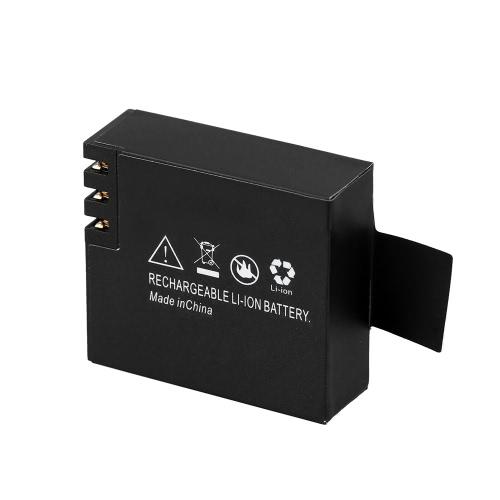 Chargeur de batterie caméra SJCAM sport avec 3.7V 900mAh rechargeable Li-ion pour SJCAM SJ4000 SJ5000 M10 X1000 action Cam