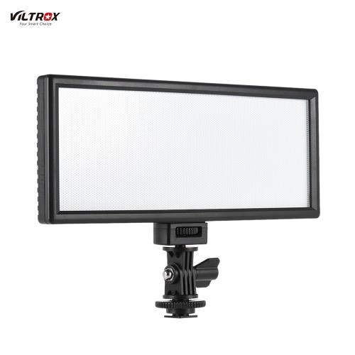 Viltrox L132B Professional Ultra-thin LED Video Light Photography Fill Light Adjustable Brightness Max Brightness 1082LM 5400K CRI95+ for Canon Nikon Sony Panasonic DSLR Camera and Camcorder