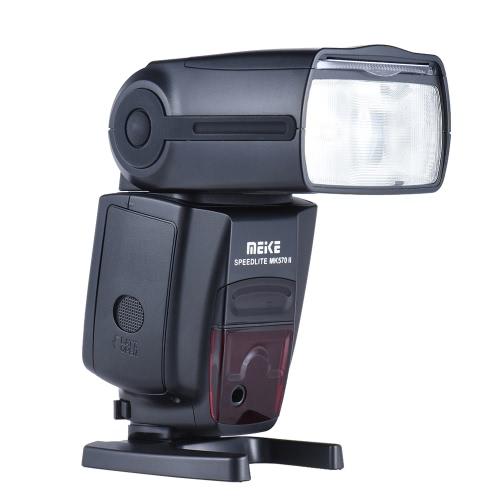 MEIKE MK570II Speedlite GN58 2.4G Wireless Master Slave Blitzgerät für Canon Nikon Pentax Olympus DSLR-Kamera