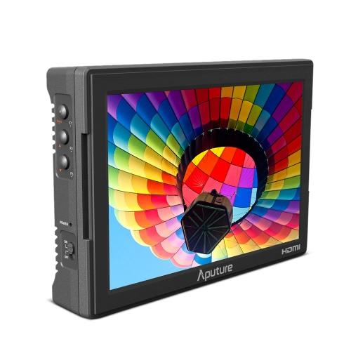 Aputure VS-5 7 pouces Pro Multifonctionnel Champ Moniteur 1920 * 1200 haute résolution HDMI et entrée avec Waveform Vectorscope Histogramme Zebra Faux couleur HD-SDI