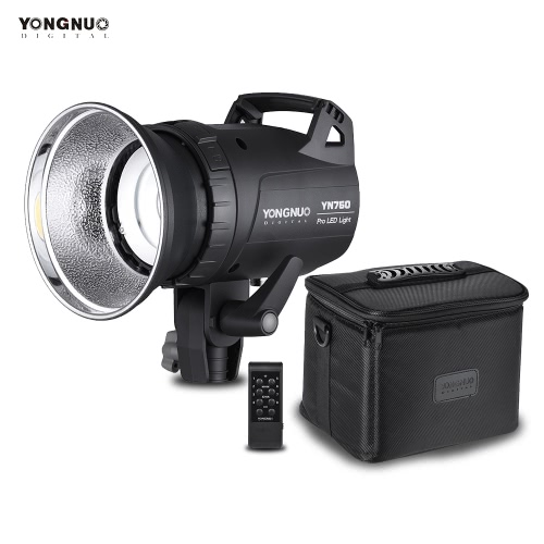 YONGNUO YN760 Protable LED Studio Video Light Photography Outdoor Lamp 4200K 8000LM CRI>95 Support Wireless Remote Controller and Mobile APP Remote Control for Camera Camcorder
