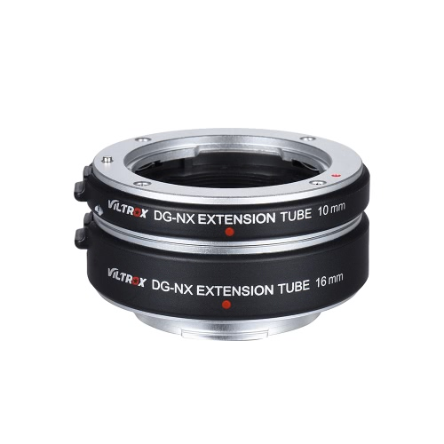 サムスンNXマウントミラーレスシリーズのカメラとレンズのためViltrox DG-NX自動延長チューブ10ミリメートルと16ミリメートルオートフォーカス