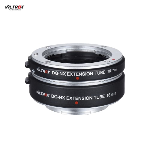 Viltrox DG-NX automatique Extension Tube 10mm et 16mm Auto Focus pour Samsung NX Mont Mirrorless Series et Lens