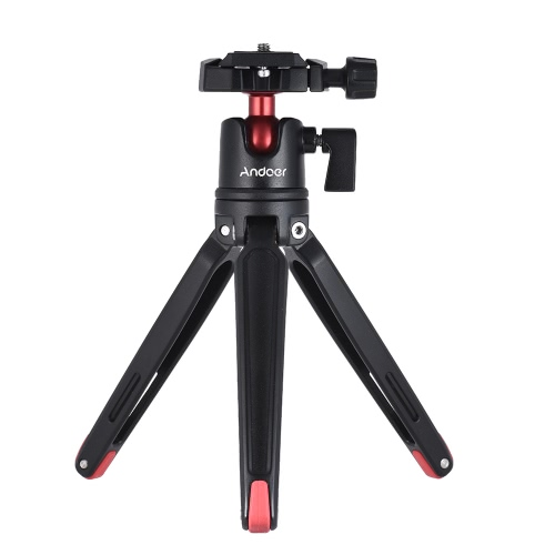Andoer Mini Handheld Travel Tabletop Tripod Stand