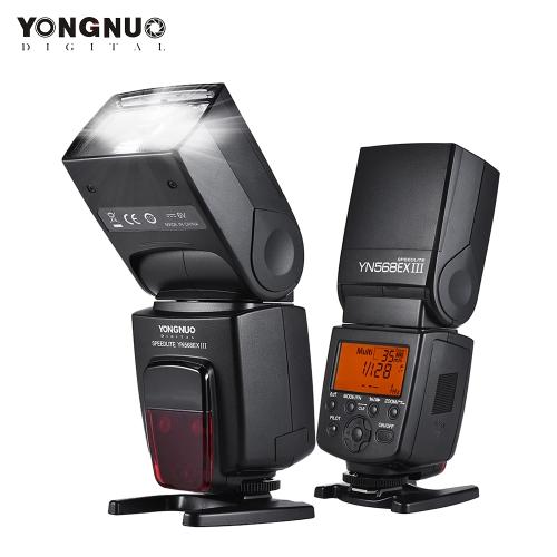 YONNUO YN568EX IIIワイヤレスTTLマスタースレーブフラッシュスピードライトGN58 1 / 8000s高速同期がCanon DSLRカメラのUSBファームウェアアップグレードをサポート