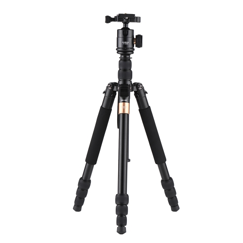 Andoer TP-668S Portable Aluminum Alloy Tripod Photography Travel Tripod