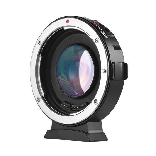 Adaptador de montagem de lente de foco automático Viltrox EF-M2