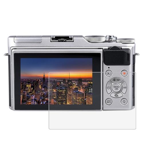 PULUZ Camera Screen Folia ochronna Polycarbonate Protect Film Anti-scratch Twardość Hartowane Screen Protector do Canon Sony Nikon Panasonic FinePix Olympus Akcesoria do aparatów cyfrowych FinePix X-A3