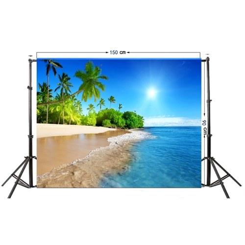 Summer Seascape Beach Dreamlike Haloes 3D Фотография Фоновый экран Фото Видео Фотография Студия Fabric Props Backdrop фото