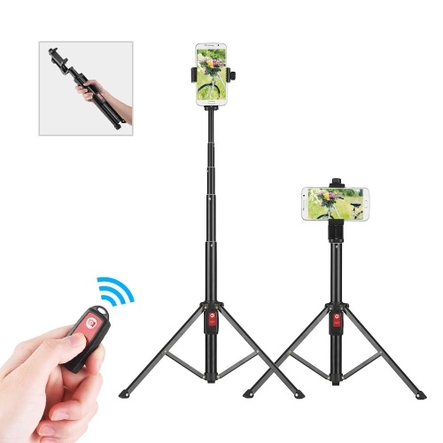 55inch BT Selfie Stand Portable Phone Tripod Support