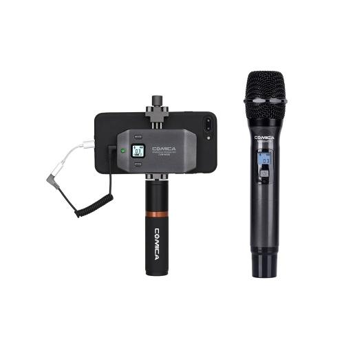 Microfone sem fio para smartphone multicanal COMICA CVM-WS50H