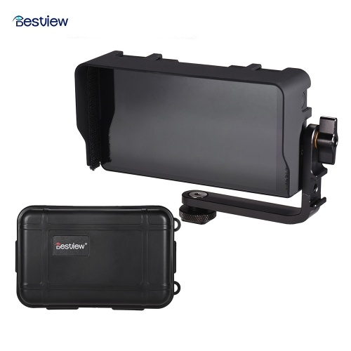 Bestview S5 5.5 Inch Field Monitor IPS Full HD 1920 * 1080 4K HDMI Input 160° Wide Viewing Angle for Canon Sony Nikon DSLR Camera