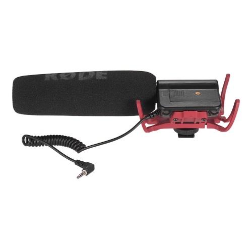 RODE VideoMic Shotgun-Kondensatormikrofon in der Kamera
