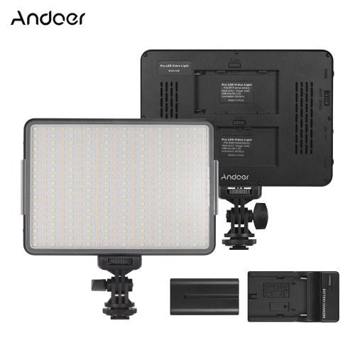 Andoer W360 Portable LED-Videoleuchte