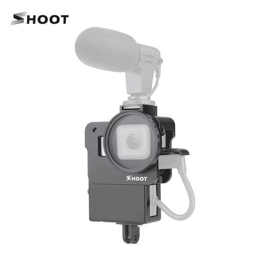 SHOOT XTGP 539 CNCアルミ合金アクションカメラヴロギングケージ