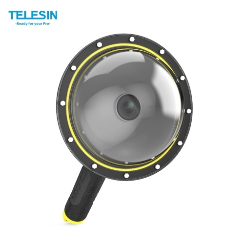 TELESIN 6 Inch Dome Port Cover Kit