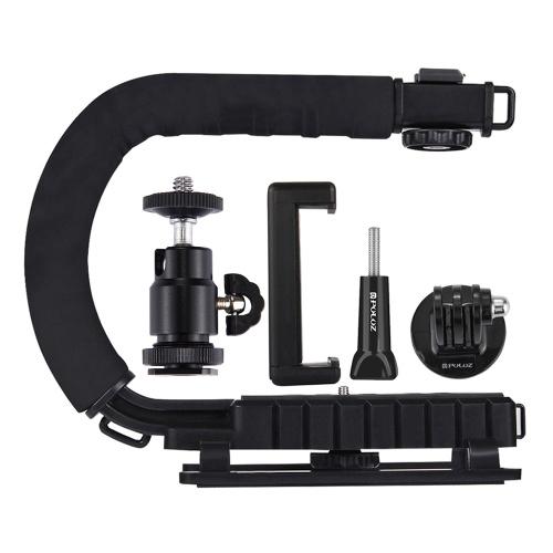 PULUZ U-förmige tragbare Handkamera-Halterung Videogriff DV-Halterung C-förmiges Steadicam-Stabilisator-Kit