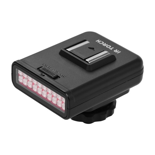 ORDRO LN-3 Studio IR LED Light USB recarregável Infravermelho Night Vision Infrared Illuminator