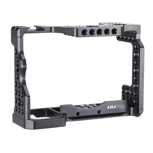 UURIG C-A73 Kamerakäfig Aluminiumlegierung mit Kaltschuhhalterung