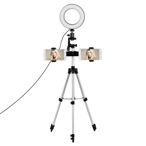 Dual-Phone Live Streaming Lighting Kit