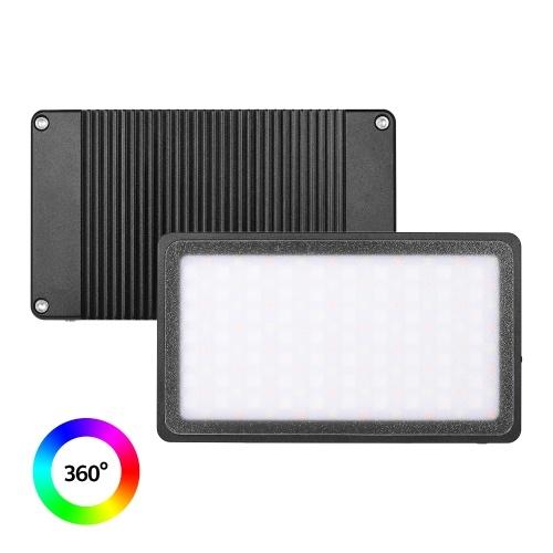 Andoer MFL-09 Pocket RGB LED Video Light 2500K-8500K Dimmable Photographie Fill Light CRI96 + 3 Modes d'effet d'éclairage