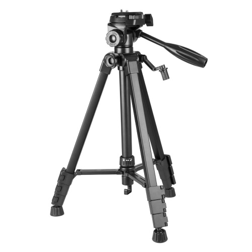 Camera Tripod Portable Folding Photography Stand Aluminum Alloy Max. Height 1.5m Max. Load 5kg