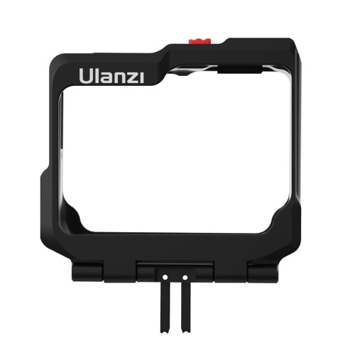 ulanzi Metal Camera Cage with Dual Cold Shoe Mounts Protective Frame Cace Vlog Accessories