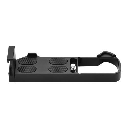 Placa de montagem L com chave de parafuso 1/4 de substituição para câmera Canon G7X Mark III / II