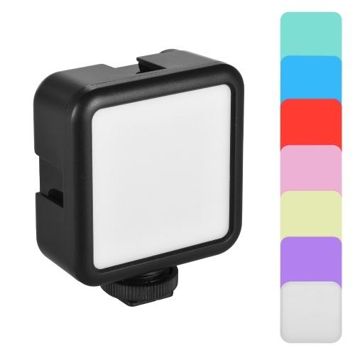Andoer W49S Mini-Fotolampe Tragbares LED-Licht für die Kamera