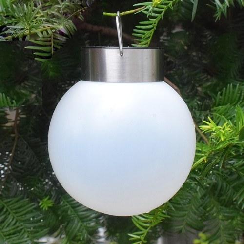 Solar-Powered Lamp Waterproof LED Hanging Ball Light