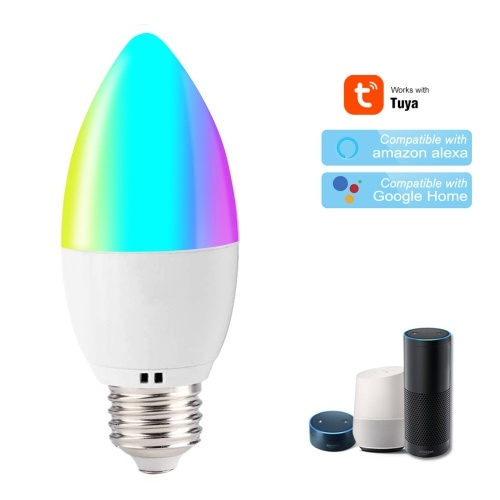 Lampadina WiFi Smart Lampadina RGB + W LED Dimmerabile