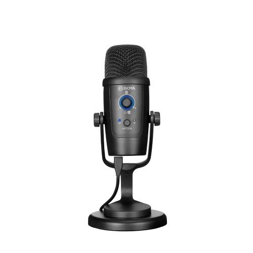 BOYA BY-PM500 USB Microphone Mic Cardioid/ Omnidirectional Pickup Patterns Muting Function 3.5mm Headphone Jack