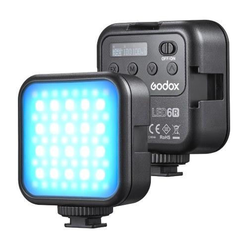 Светодиодная видеолампа Godox LITEMONS LED6R RGB