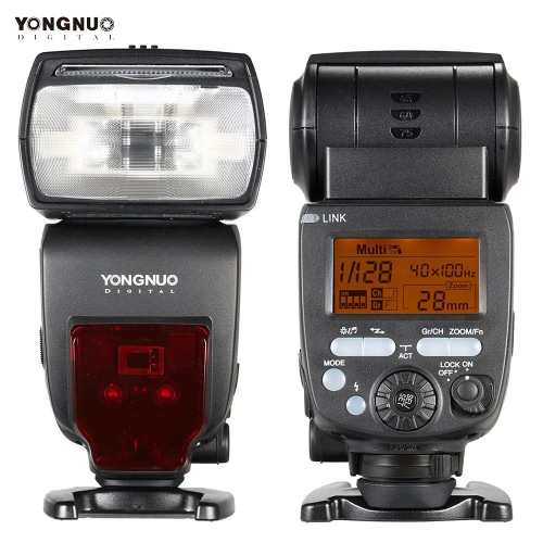 YONGNUO YN660 GN66 2.4G Funkübertragung Transceiver Master Slave Speedlite Blitz für Canon Nikon Pentax DSLR Kamera kompatibel mit YN560-TX/RF-603/RF-602/RF 603II/YN560 IV/YN560 III/RF605