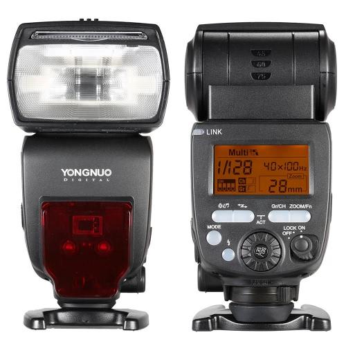 YONGNUO YN660 GN66 2.4G Wireless Transmission Transceiver Master Slave Speedlite Flash for Nikon Canon Pentax DSLR Camera Compatible with YN560-TX/RF-603/RF-602/RF 603II/YN560 IV/YN560 III/RF605