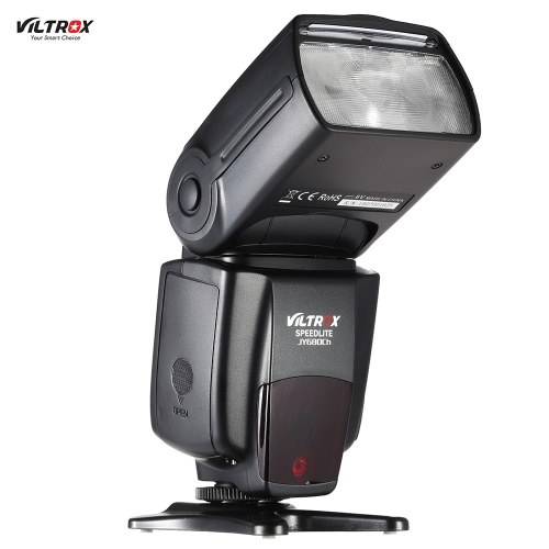 Viltrox JY680Ch GN58 E-TTL 1 / 8000s HSS Master Slave Auto-mający fokus Speedlite Flash dla Canon EOS 760D 750D 7D2 5D3 5DR 5drs 70D 700D 650D 600D 6D 550D Rebel T2i / T3i / T4i / T5i T6i T6s