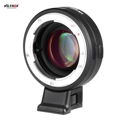 VILTROX NF-E マニュアルフォーカス Fマウントレンズ アダプタTelecompressor 焦点レデューサー スピードブースター Sony NEX-F3/N3/3/C3/5/5C/5D/5N/5K/5T/5R/6/7/A7/A7-2/A7R/A7S/A5000/A6000 Eマウントカメラ適用