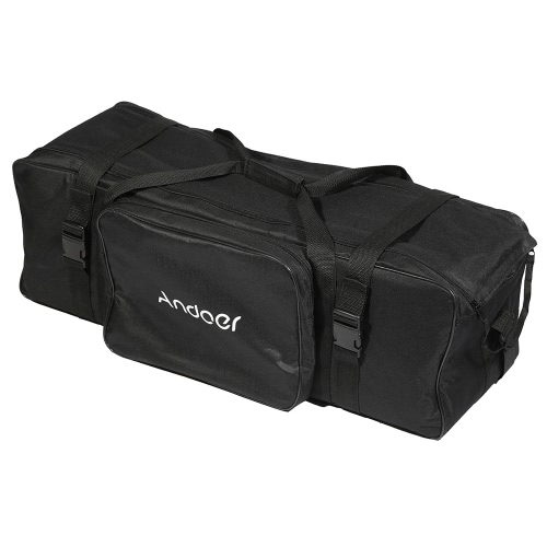 Andoer Photography Studio Light Kit Padded Carrying Bag