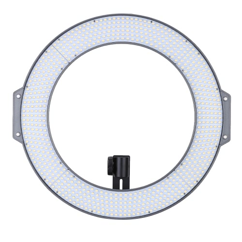 F&V R720 Lumic Professional Ring Video Photography Studio Light Lamp 720pcs LEDs 5600K for DSLR Camera Camcorder with Carrying Bag Color Plates