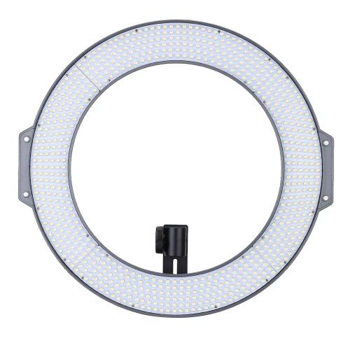 F & V R720 Lumic profesional anillo Fotografía Video Studio luz lámpara 720pcs LEDs 5600K para DSLR cámara videocámara con planchas de Color bolso de transporte